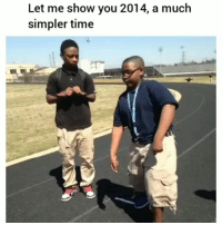 Facts, Funny, and Lmao: Let me show you 2014, a much  simpler time Lmao facts 😂💀