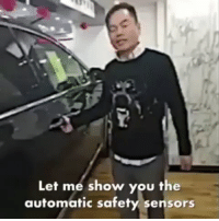 Memes, 🤖, and You: Let me show you the  automatic safety sensors