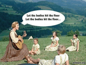 Bodies , Reddit, and Org: Let the bodies hit the floor  Let the bodies hit the floo...  nohope.org Let the bodies hit the floor