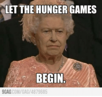 The Queen during the Opening Ceremony...