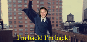 Let the sub rejoice this day's glorious news, our boy is back!: Let the sub rejoice this day's glorious news, our boy is back!