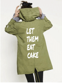 Fall, Politics, and Cake: LET  THEM  EAT  CAKE