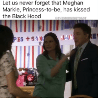 She also gave Ethan a blow job in 90210. Just saying (@themorningtoast): Let us never forget that Meghan  Markle, Princess-to-be, has kissed  the Black Hood  THEMORNINGTOAST She also gave Ethan a blow job in 90210. Just saying (@themorningtoast)