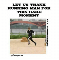 Let's appreciate his energy: LET US THANK  RUNNING MAN FOR  THIS RARE  MOMENT  pCsugutie  SKY I YOONMINED-FB Let's appreciate his energy