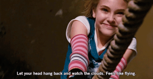 https://iglovequotes.net/: Let your head hang back and watch the clouds. Feels like flying. https://iglovequotes.net/