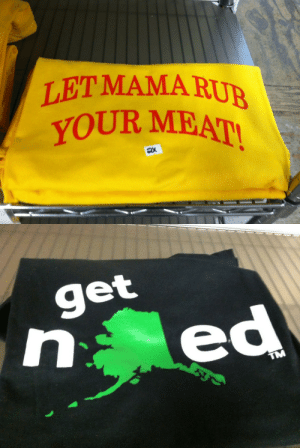 """Huh, Target, and Tumblr: LETMAMA RU  YOUR MEA   get  TM flightcub: beefywizards:  styrofoamtokyo:  beefywizards:  Get nalaskaed  The abbreviation for Alaska is """"AK""""…  Get nalaskaed   we're just gonna brush past the let mama rub your meat thing huh"""