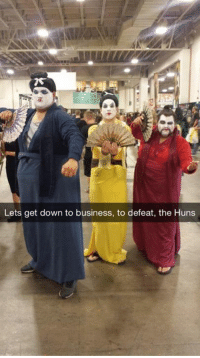 Cosplay done right! - Alternative Disney: Lets get down to business, to defeat, the Huns Cosplay done right! - Alternative Disney