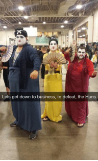 Memes, Huns, and 🤖: Lets get down to business, to defeat, the Huns -Iceprincess