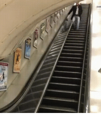 Drunk, Wcgw, and Expectedly: Lets get drunk and play with escalators WCGW
