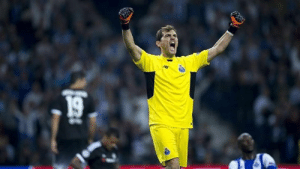 Let's go Porto. Since Real Madrid are out I'll root for Porto for rest of the season in UCL just because of the GGOAT - Greatest Goalkeeper of all time and my favourite player ever. One and only San Iker.  #Rag7: Let's go Porto. Since Real Madrid are out I'll root for Porto for rest of the season in UCL just because of the GGOAT - Greatest Goalkeeper of all time and my favourite player ever. One and only San Iker.  #Rag7
