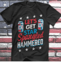 Independence Day, Memes, and Star: LETS  HAMMERED Every Day Is Independence Day! So get ready RIGHT NOW!!  Get yours here ==> https://www.aafnation.com/collections/amiri-king/products/ak-lets-get-star-spangled-hammered-4oj?go=aksph
