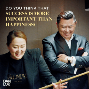 Let's hear your thoughts on @danlok's question! Is success more important than happiness? https://t.co/Yijm3JwZpg: Let's hear your thoughts on @danlok's question! Is success more important than happiness? https://t.co/Yijm3JwZpg