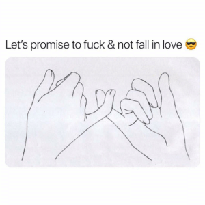 Fall, Love, and Fuck: Let's promise to fuck & not fall in love @mzlightskinn_ Man. 2017-2018 was WILD. 😂😂😂