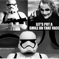 """Memes, Justice, and Justice League: LET'S PUT A  SMILE ON THAT FACE  iustic.leaguc.memes """"Why so serious"""" 👉Turn on post notifications ❤️ starwarsjokes 📸: @justice.league.memes -"""