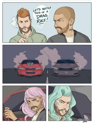 Drag race: LETS SETTLE  THIS IN A  RACE  20 Drag race