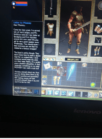Titan Quest Letter To Mummy from pics.me.me