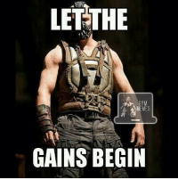 The time is upon us... 💪: LETTHE  GYM  MEMES  GAINS BEGIN The time is upon us... 💪