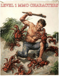 Gamer can relate http://9gag.com/gag/ay55gqq?ref=fbp  Follow us to enjoy more funny pics and memes on http://twitter.com/9gag: LEVEL 1 MMO CHARACTERS Gamer can relate http://9gag.com/gag/ay55gqq?ref=fbp  Follow us to enjoy more funny pics and memes on http://twitter.com/9gag