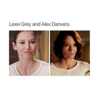 Memes, 🤖, and Supergirl: Lexie Grey and Alex Danvers. Can you hear my heart ripping in half greysanatomy supergirl Cr: dr.littlegrey