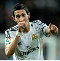 """""""Real Madrid C.F. gave me the chance to reach the very top, to be among the world's best XI that year. They gave me everything, so I will always be eternally grateful.""""  - Angel Di María: LFP  adidas  ates  Em """"Real Madrid C.F. gave me the chance to reach the very top, to be among the world's best XI that year. They gave me everything, so I will always be eternally grateful.""""  - Angel Di María"""