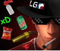 LG  oritos  cho Cheese MLG Scout (Original picture by biggreenpepper)
