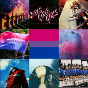 Lgbt, Mood, and Target: lgbt-mood:  Bisexual color guard themes for anon ~Helper Jack