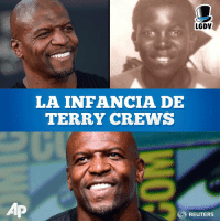 Memes, Terry Crews, and Reuters: LGDV  LA INFANCIA DE  TERRY CREWS  AP  REUTERS Una persona siempre divertida y optimistas, pero Terry Crews vivio una infancia muy dura...