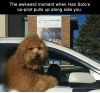 Morning Funny Picture Dump 33 Pics: lhe awkward moment when Han Solo's  co-pilot pulls up along side you  National Jewish  th.org Morning Funny Picture Dump 33 Pics