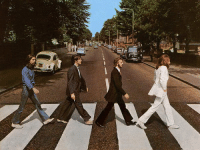 46 years ago today, The Beatles released their final album, Abbey Road.: li  52 mA  T 46 years ago today, The Beatles released their final album, Abbey Road.