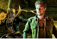 Memes, 🤖, and Iron Fist: Li Finn Jones says it will take a couple seasons before Danny Rand wears his classic Iron Fist costume. http://bit.ly/2mpAOHr  (Andrew Gifford)