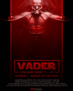 """Memes, Star Wars, and Best: li  VADER  A STAR WARS THEORY FAN SERIES  EPSODEI- SHARDS OF THE PAT  困YouTube Go watch @star.wars.theory's fan film """"Vader Episode 1: Shards of The Past."""" One of the best fan films ive ever seen, with more episodes to come. Link in my bio -"""