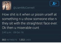 Something Weets you cunt