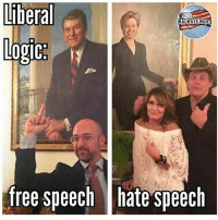 America, Funny, and Instagram: Liberal  ALWAYS RIGHT  logic  free speech hate speech I'll never understand liberal logic... but maybe it isn't meant to be understood. 🔴www.TooSavageForDemocrats.com🔴 JOINT INSTAGRAM: @rightwingsavages Partners: 🇺🇸👍: @The_Typical_Liberal 🇺🇸💪@theunapologeticpatriot 🇺🇸 @DylansDailyShow 🇺🇸 @keepamerica.usa 🇺🇸@Raised_Right_ 🇺🇸@conservative.female 😈 @too_savage_for_liberals 🇺🇸 @Conservative.American DonaldTrump Trump 2A MakeAmericaGreatAgain Conservative Republican Liberal Democrat Ccw247 MAGA Politics LiberalLogic Savage TooSavageForDemocrats Instagram Merica America PresidentTrump Funny True SecondAmendment