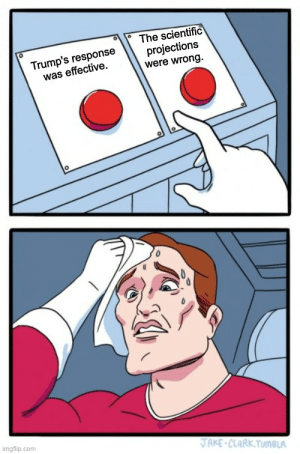 Liberal Dilemma... is it tho? Trump's response has been a never ending shit show.: Liberal Dilemma... is it tho? Trump's response has been a never ending shit show.