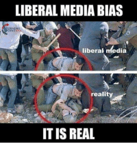 Memes, Reality, and 🤖: LIBERAL MEDIA BIAS  TURNING  OINT USA  liberal media  reality  ITIS REAL Imagine that
