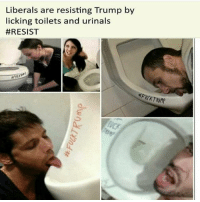 Go ahead, lick all the urinals you want. It REALLY grinds Trump's gears 😂 resist trumpmemes liberals libbys democraps liberallogic liberal maga conservative constitution presidenttrump resist thetypicalliberal typicalliberal merica america stupiddemocrats donaldtrump trump2016 patriot trump yeeyee presidentdonaldtrump draintheswamp makeamericagreatagain trumptrain triggered CHECK OUT MY WEBSITE AND STORE!🌐 thetypicalliberal.net-store 🥇Join our closed group on Facebook. For top fans only: Right Wing Savages🥇 Add me on Snapchat and get to know me. Don't be a stranger: thetypicallibby Partners: @theunapologeticpatriot 🇺🇸 @too_savage_for_democrats 🐍 @thelastgreatstand 🇺🇸 @always.right 🐘 @keepamerica.usa ☠️ @republicangirlapparel 🎀 @drunkenrepublican 🍺 TURN ON POST NOTIFICATIONS! Make sure to check out our joint Facebook - Right Wing Savages Joint Instagram - @rightwingsavages: Liberals are resisting Trump by  licking toilets and urinals  Go ahead, lick all the urinals you want. It REALLY grinds Trump's gears 😂 resist trumpmemes liberals libbys democraps liberallogic liberal maga conservative constitution presidenttrump resist thetypicalliberal typicalliberal merica america stupiddemocrats donaldtrump trump2016 patriot trump yeeyee presidentdonaldtrump draintheswamp makeamericagreatagain trumptrain triggered CHECK OUT MY WEBSITE AND STORE!🌐 thetypicalliberal.net-store 🥇Join our closed group on Facebook. For top fans only: Right Wing Savages🥇 Add me on Snapchat and get to know me. Don't be a stranger: thetypicallibby Partners: @theunapologeticpatriot 🇺🇸 @too_savage_for_democrats 🐍 @thelastgreatstand 🇺🇸 @always.right 🐘 @keepamerica.usa ☠️ @republicangirlapparel 🎀 @drunkenrepublican 🍺 TURN ON POST NOTIFICATIONS! Make sure to check out our joint Facebook - Right Wing Savages Joint Instagram - @rightwingsavages