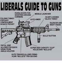 """😄 ✅ Double tap the pic ✅ Tag your friends ✅ Check link in my bio for badass stuff - usarmy 2ndamendment soldier navyseals gun flag army operator troops tactical sniper armedforces k9 weapon patriot marine usmc veteran veterans usa america merica american coastguard airman usnavy militarylife military airforce tacticalgunners: LIBERALS GUIDE TO GUNS  PARRASCOPE FOR MISSILE LAUNCHER  SHOOTING AROUND  CORNERS  SCARY LOOKING  FOLDING THINGY  AUTOAIMER  BLACK THINGY  FOR EASY  CONCEALMENT  SILENCER AND  IN BACK POCKET  NIGHT VISION  BULLIT BUTTON  PISTOL GRIP  ALLOWS FOR QUICK  SUPER HIGHCAPACITY """"CLIP""""  DRAW FROM  HOLDS 6000 """"BULLETS""""  ANKLE HOLSTER  AUTOTRIGGERALLOWSFIRING  10,000 """"BULLETS PER SECOND 😄 ✅ Double tap the pic ✅ Tag your friends ✅ Check link in my bio for badass stuff - usarmy 2ndamendment soldier navyseals gun flag army operator troops tactical sniper armedforces k9 weapon patriot marine usmc veteran veterans usa america merica american coastguard airman usnavy militarylife military airforce tacticalgunners"""