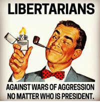 (CS): LIBERTARIANS  ARIAN  COUNTRY  AGAINST WARS OF AGGRESSION  NO MATTER WHO IS PRESIDENT (CS)
