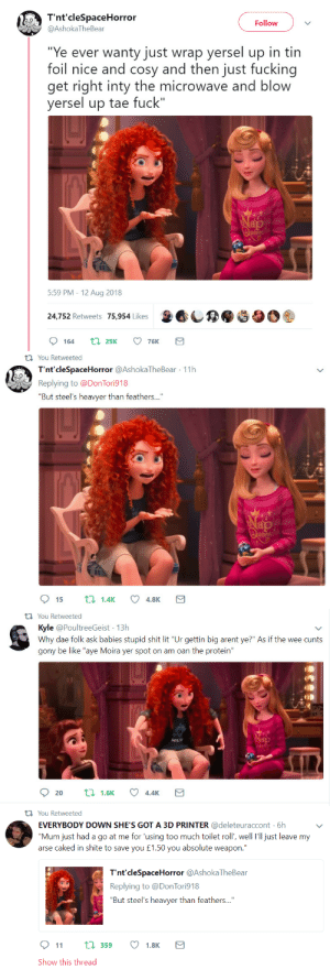 libertarirynn:  crunchwrapofnotredame:  persephinae: Merida + Scottish twitter  This is fantastic I never want it to end.   Best one:: libertarirynn:  crunchwrapofnotredame:  persephinae: Merida + Scottish twitter  This is fantastic I never want it to end.   Best one: