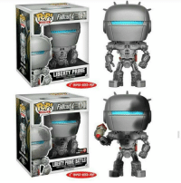 LIBERTY PRIME  6 SUPER SMED POP  only@  LIBERTY PRIME BATTLE  6 SUPER SLED POP big ass liberty prime pops sign me the fuck up • • • {cr: @mrobamatron fallout pop popvinyl fallout4 gaming}