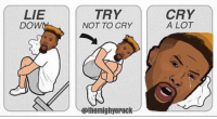"""""""I'm not having fun anymore"""" - Odell Beckham Jr  Credit - TheMightyErock: LIE  DOW  TRY  NOT TO CRY  @themighyepack  CRY  A LOT """"I'm not having fun anymore"""" - Odell Beckham Jr  Credit - TheMightyErock"""
