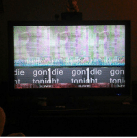 """""""Flipping through channels, stopped on this."""" creepy nosleep TheLADbible: lie gon' die gon' die gon  tonia ht tonight  toni """"Flipping through channels, stopped on this."""" creepy nosleep TheLADbible"""