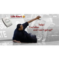 Life, Life Alert, and Sports: Life Alert  bri  help!  I've fallen  and I can't get up! Georgia State's Ron Hunter making the new Life Alert ad after his son's game-winner MarchMadness 😭😭😭