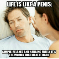LIFE AREA PENIS.  SIMPLE RELANEDAND HANGING FREELLITS  THE WOMENTHATMAKEIT HARD I'm going to get in trouble for this one! Sooo worth it though! 😂😂