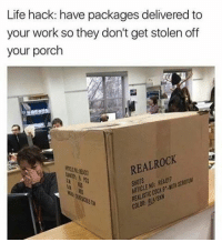 Black Friday, Friday, and Life: Life hack: have packages delivered to  your work so they don't get stolen off  your porch  REALROCK  COLOR: Black Friday shopping spree