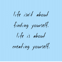 Life, Youe, and About: life in aboun  inding youe  life is about  eveating yourself  cieating yourse