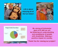 """Funny, Life, and Tumblr: Life is about  enjoying all of  the fun times!!   Project Funds Overview:  By raising of kickstarter  goal of $1,500 we will  be fostering an understanding  and acceptance of people  with disabilities. Making a  positive impact on society.  280.00  Contributon  5350 00  Thank You for viewing our project! <p><a href=""""http://fundraisingwebsites.tumblr.com/post/143953129786/seeing-beyond-the-surface-a-compilation-about"""" class=""""tumblr_blog"""">fundraisingwebsites</a>:</p>  <blockquote><h2><a href=""""https://www.kickstarter.com/projects/740266398/seeing-beyond-the-surface-a-compilation-about-disa"""">Seeing Beyond the Surface - A compilation about Disabilities</a></h2><p>  Seeing Beyond the Surface an anthology of stories and poems about people with disabilities.  <br/></p><p>This kickstarter program is for the compilation book 'Seeing Beyond the Surface' anthology. Which is a series of short stories, poems and art by and about people with a wide range of disabilities.</p><p><b>Project Overview</b></p><ul><li><b>Project Name:</b> Seeing Beyond the Surface Project</li><li><b>Description:</b> This project will be a printed and bound book of personal stories both funny and serious that show how people with disabilities adapt and relate to everyday life and situations.</li><li><b>Project Purpose:</b> To foster an understanding of an often misunderstood population.</li><li><b>Publication Date:</b> June 2016</li></ul></blockquote>"""
