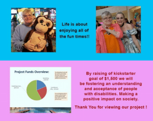 Funny, Life, and Tumblr: Life is about  enjoying all of  the fun times!!   Project Funds Overview:  By raising of kickstarter  goal of $1,500 we will  be fostering an understanding  and acceptance of people  with disabilities. Making a  positive impact on society  280.00  Contributon  5350 00  Thank You for viewing our project! fundraisingwebsites:  Seeing Beyond the Surface - A compilation about Disabilities  Seeing Beyond the Surface an anthology of stories and poems about people with disabilities.  This kickstarter program is for the compilation book 'Seeing Beyond the Surface' anthology. Which is a series of short stories, poems and art by and about people with a wide range of disabilities.Project OverviewProject Name: Seeing Beyond the Surface ProjectDescription: This project will be a printed and bound book of personal stories both funny and serious that show how people with disabilities adapt and relate to everyday life and situations.Project Purpose: To foster an understanding of an often misunderstood population.Publication Date: June 2016
