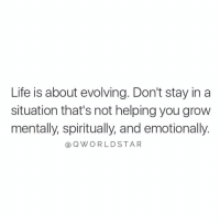 """No more time to waste...start cutting the nonsense out of your life..."" ✂️💯 @QWorldstar https://t.co/r0nFMXO5rS: Life is about evolving. Don't stay in a  situation that's not helping you grow  mentally, spiritually, and emotionally.  QWORLDSTAR ""No more time to waste...start cutting the nonsense out of your life..."" ✂️💯 @QWorldstar https://t.co/r0nFMXO5rS"