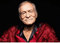 "Hugh Hefner, Life, and Memes: ""Life is too short to be living somebody else's dream."" -Hugh Hefner. R.I.P"